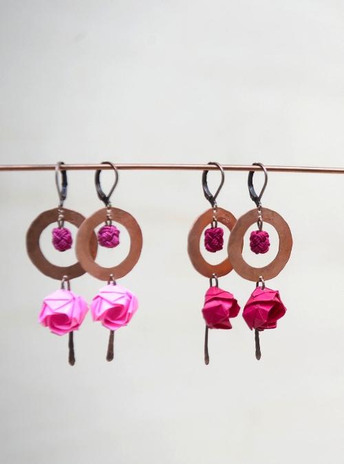 Flowerista - Fiorigami - Ramini orecchini
