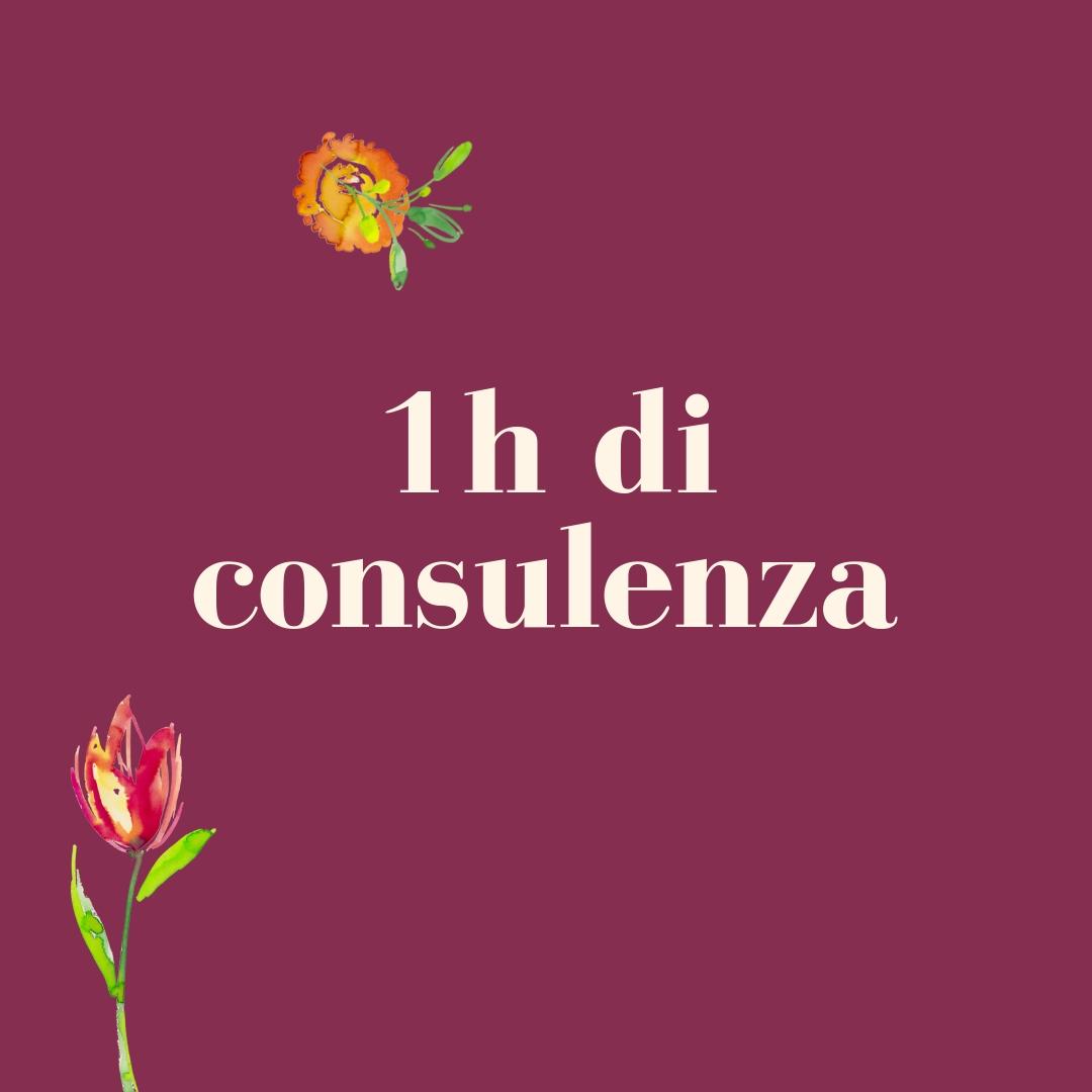 1h di consulenza prodotto servizio flowerista