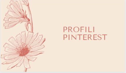 profili pinterest ispirazione