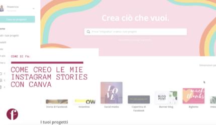 Come creo le Instagram Stories con Canva