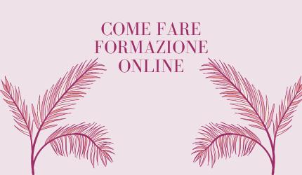 formazione online flowerista