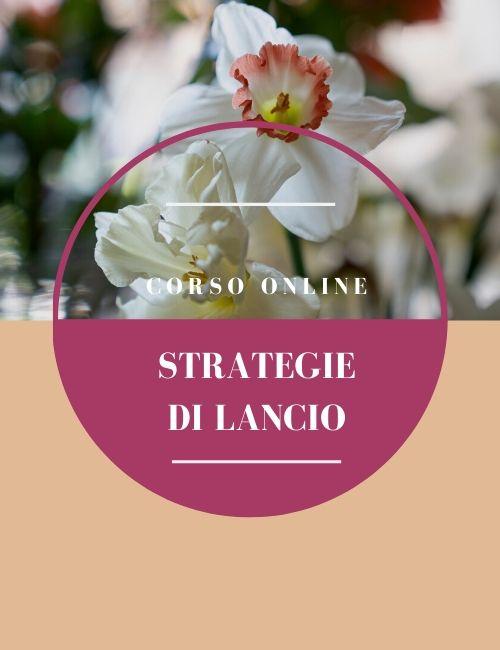 CORSO online strategie di lancio