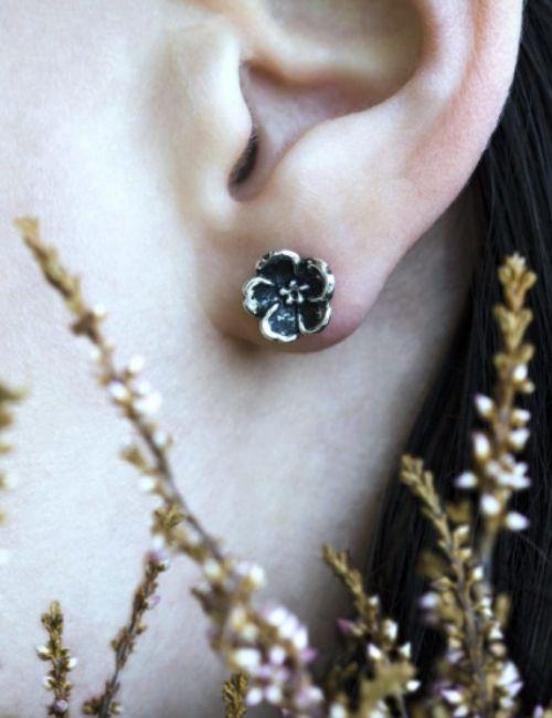 non ti scordar di me orecchini- sepi gioielli- flowerista