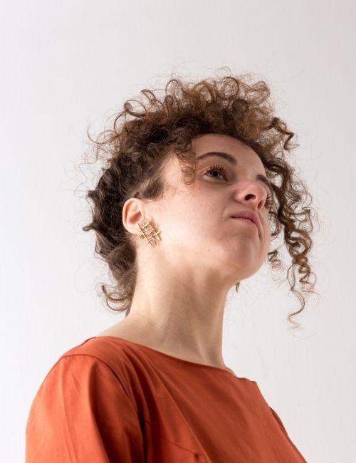 orecchini linee-Giulia Lentini-Flowerista