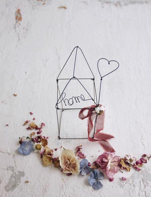 Home sweet home casetta Fili di poesia flowerista