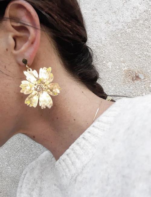 Orecchini anemone BiCA Good Morning Design flowerista