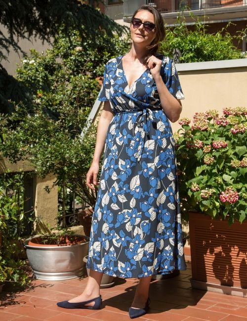 abito andromeda-guardastelle handmade-flowerista