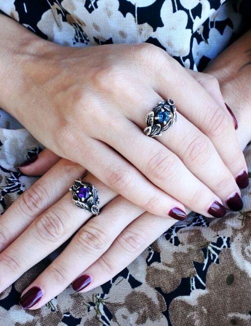 anello alloro-sepi gioielli-flowerista