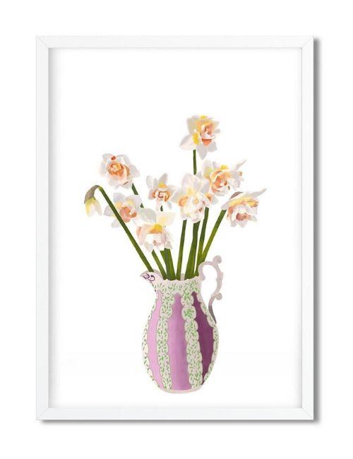 narcisi illustrazione-pourquoi pas lab-flowerista