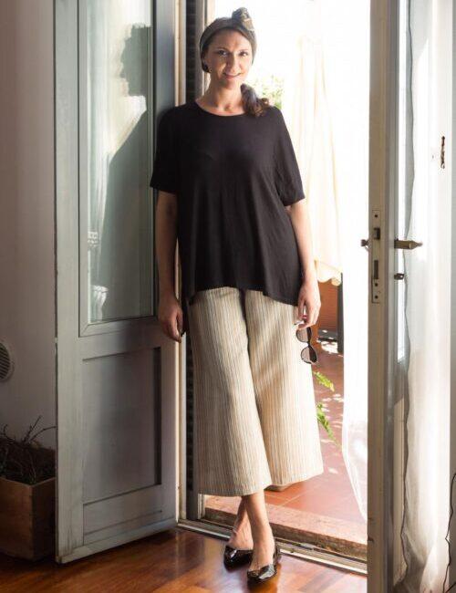 pantalone cometa- guardastelle handmade- flowerista