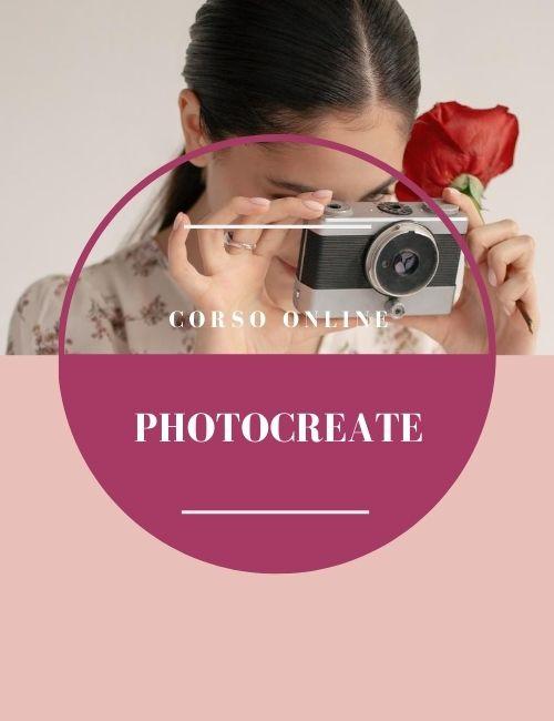 Photocreate corso di fotografia online