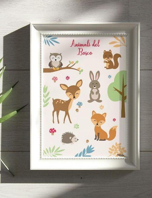 quadretto-animali-del-bosco-bbecreative-boutique-flowerista2