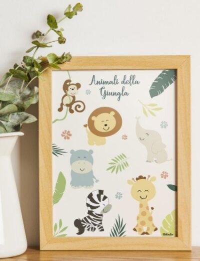 quadretto-animali-della-giungla-bbecreative-boutique-flowerista1