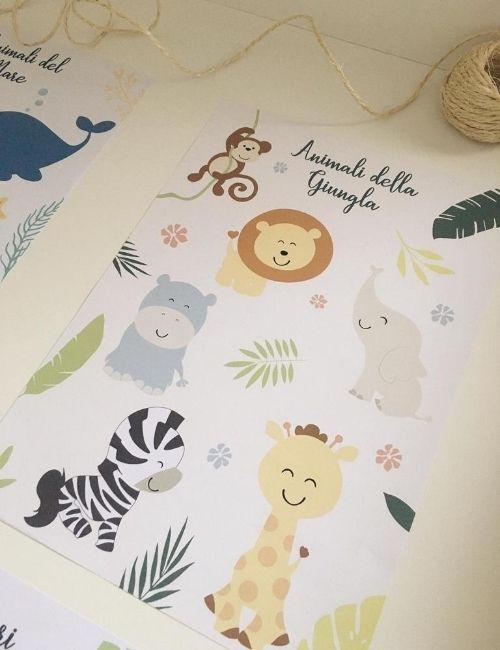quadretto-animali-della-giungla-bbecreative-boutique-flowerista2