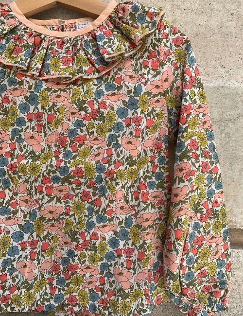 camicina cotone-fraulau-boutiqueflowerista