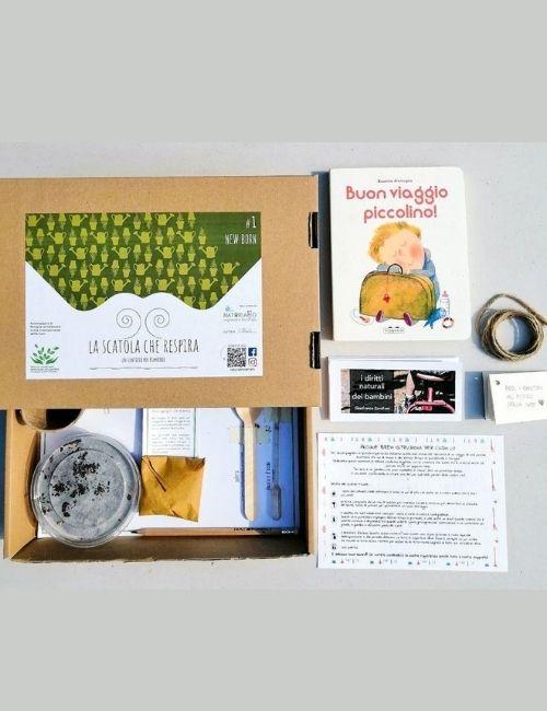 la scatola che respira-new born-naturiamo veneto-boutique flowerista