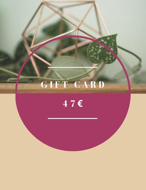 Gift card Flowerista 47