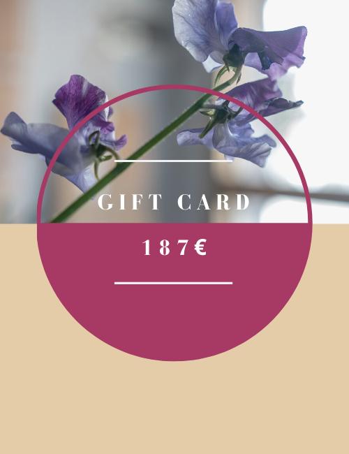 Gift Card 187 Flowerista