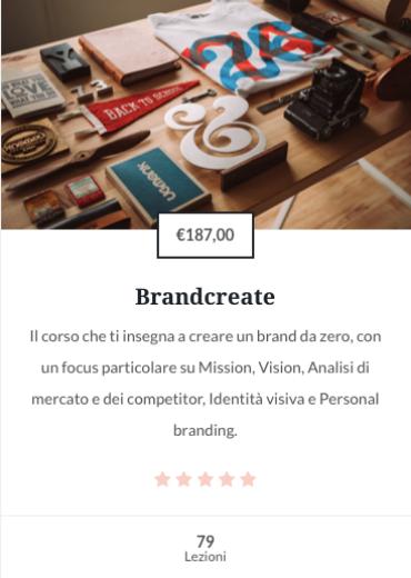 Brandcreate corso online personal branding