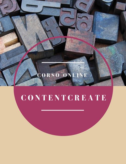 Cover Contentcreate corso online Flowerista
